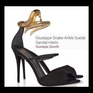 New! Giuseppe Zonatti Snake Heels!